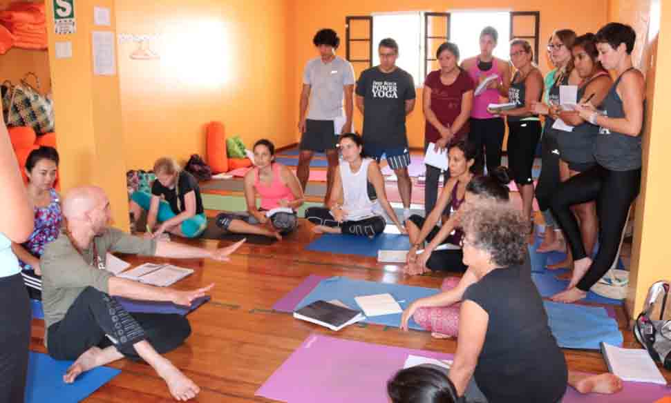 Yoga Teacher Training with Fred Busch